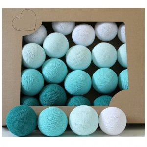 Zestaw 10 kul COTTON BALLS kolor FRESH LOVE