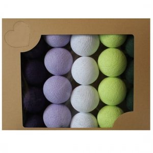Zestaw 10 kul COTTON BALLS kolor DELICIOUS MOSS