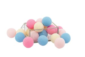 Zestaw 10 kul COTTON BALLS kolor BABY LOVE